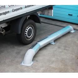 LKW Einfahrhilfe Rammschutz Einfahrtrichter